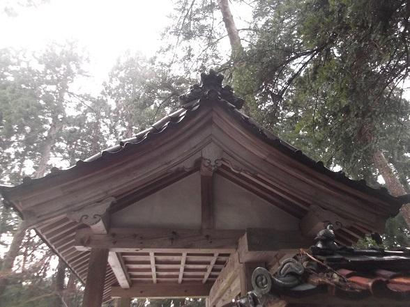 大塩八幡宮 門