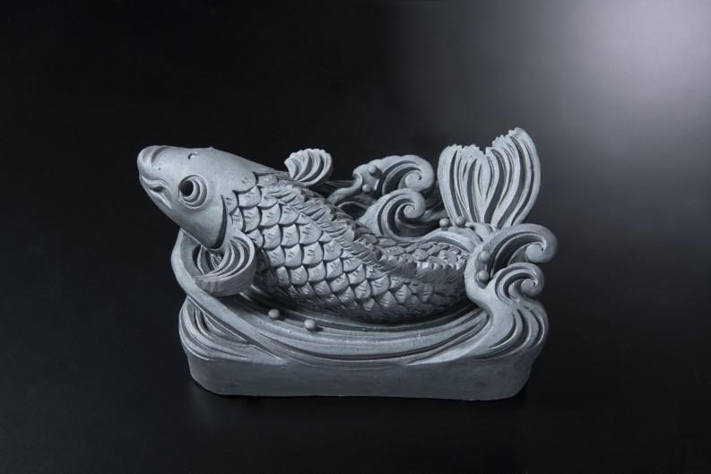 鯉(ロ)[和風置き物]