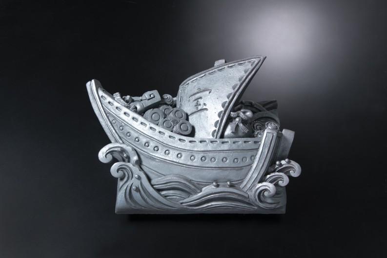 宝船(イ)[和風置物]